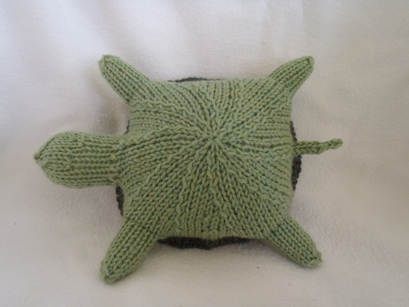 Stana\'s Critters Etc.: Knitting Pattern for Tina, the turtle