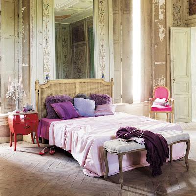 Boiserie c legno stile antica dimora di campagna - Testata letto maison du monde ...