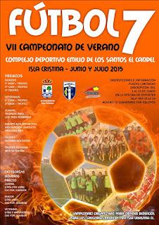 Comienza el Prestigioso VII Campeonato de Verano de Fútbol 7 de Isla Cristina