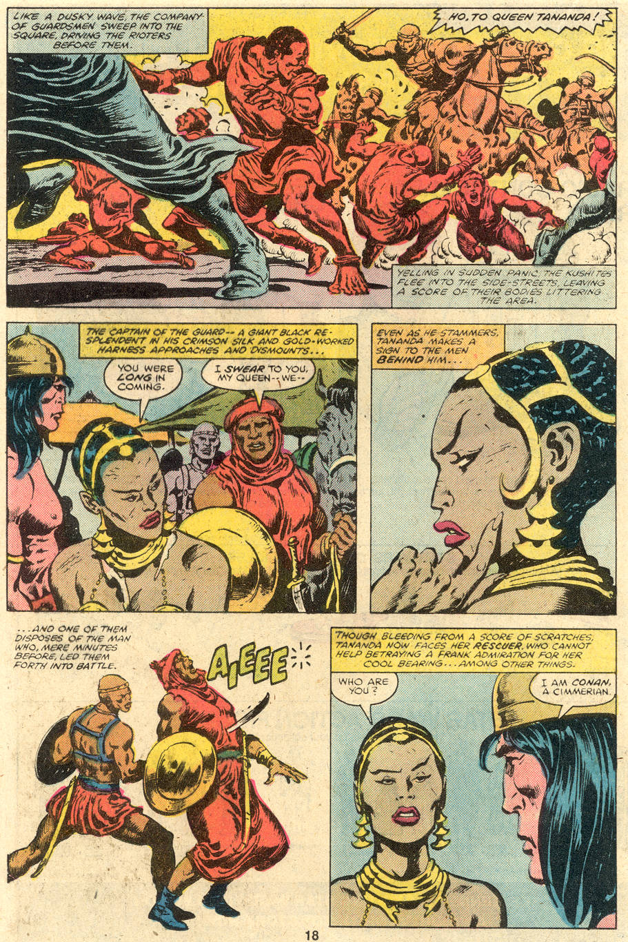 Conan the Barbarian (1970) Issue #106 #118 - English 12