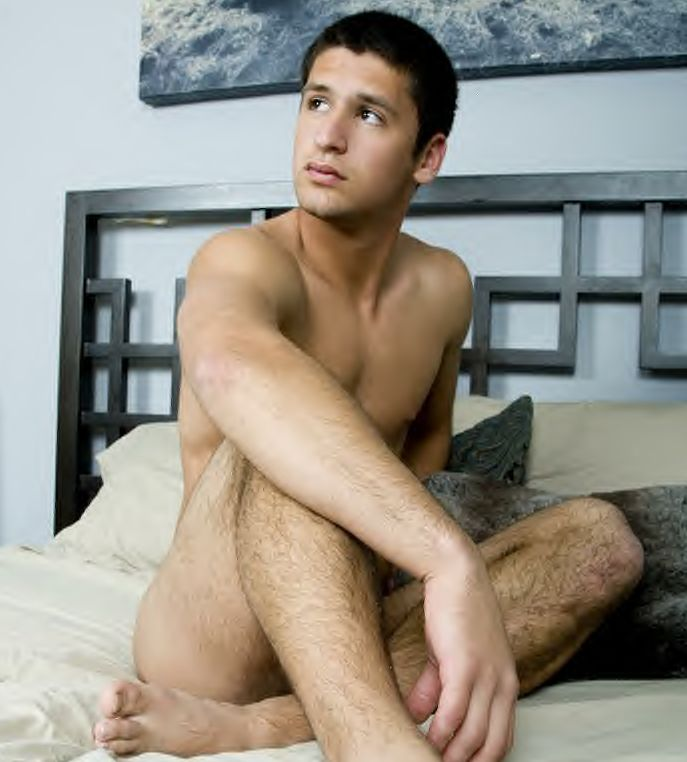 Tony Dimino has got a great set of hairy legs. The hair goes right up those ...