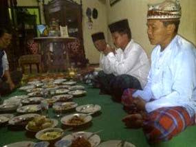 Tradisi selametan lebaran suku Using Banyuwangi