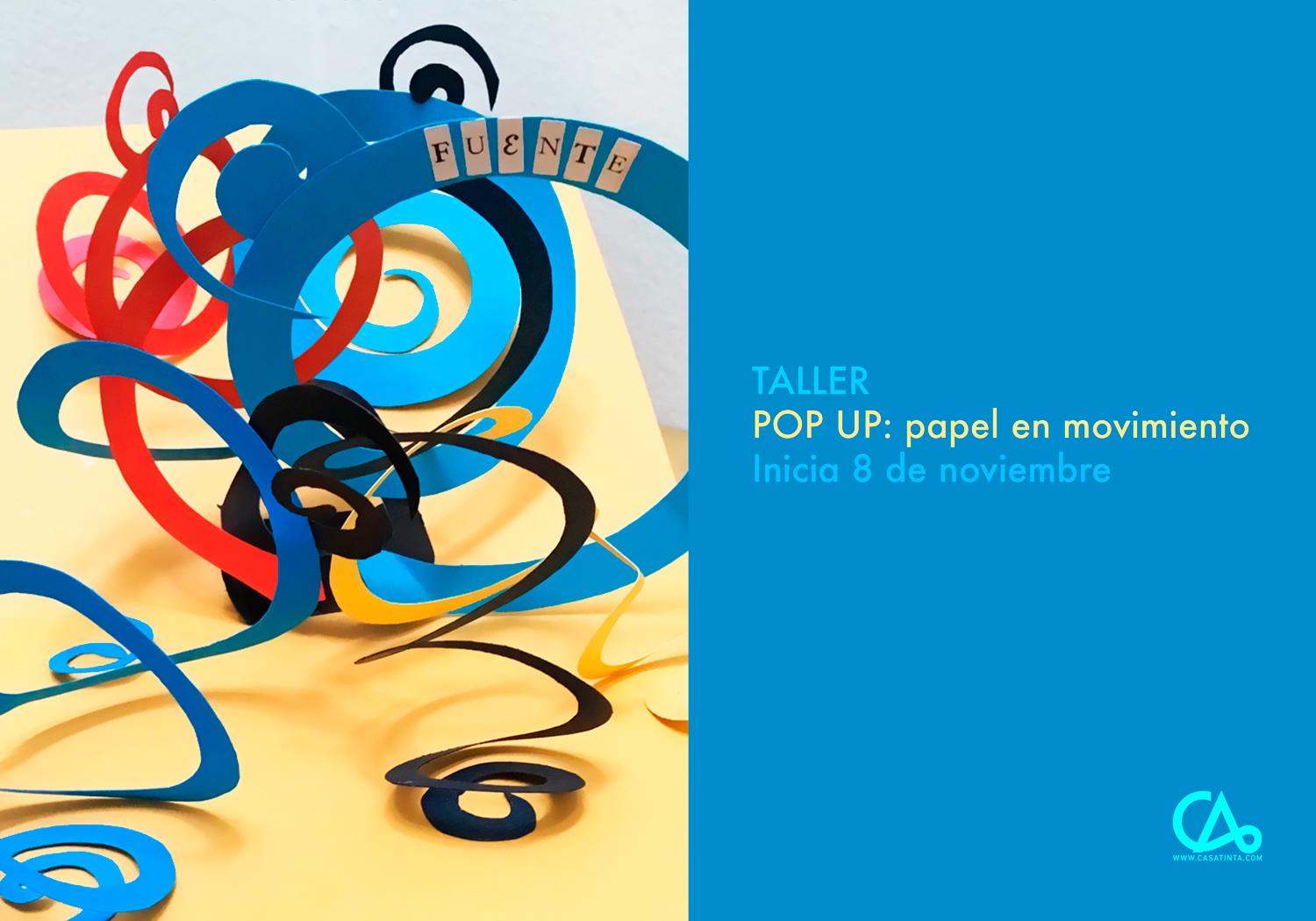 POP UP // 8 de nov
