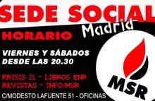 sede social msr Madrid