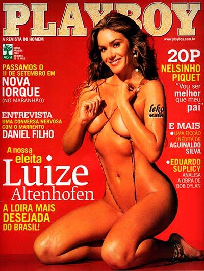 Luize Altenhofen pelada