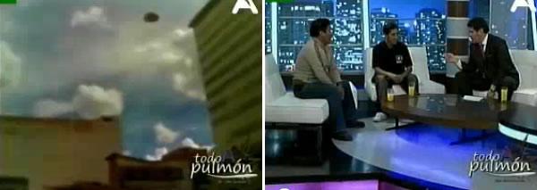 entrevista sobre el video Ovni, programa televisivo A Todo Pulmón - La Paz, Bolivia - 12 de febrero 2011