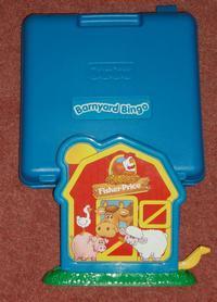 Barnyard Bingo box.