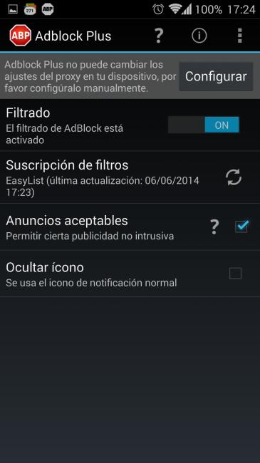 Cómo bloquear la publicidad en Android sin necesidad de root