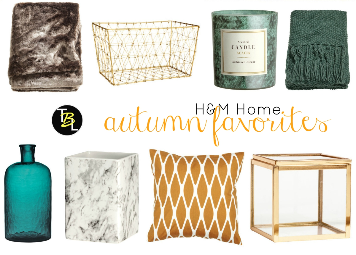 TheBlondeLion Lifestyle Interior Autumn Trends Herbst H&M Home Felldecke Gold Strick Marmor Farben
