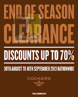 Dockers End of Season Clearance 2013