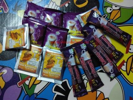 produk hkcc, minuman kesihatan, set zuriat, nuqmans collections