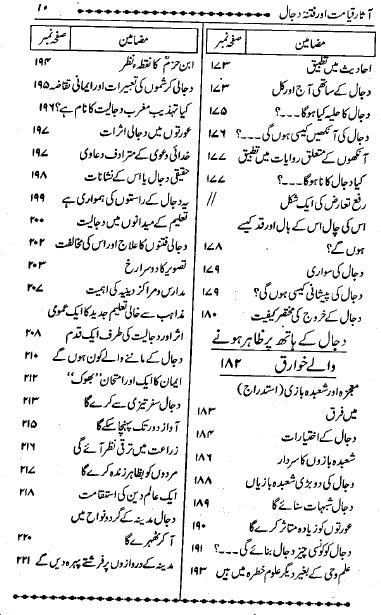 Aasaare Qayamat Aur Fitna Dajjal Ki Haqiqat urdu book