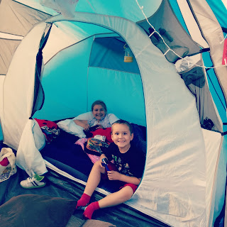 Sitting In The Tent