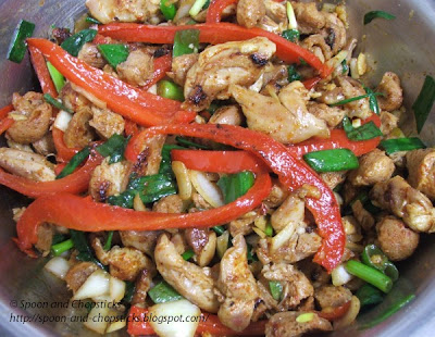 Chicken and Soya Ball Salad