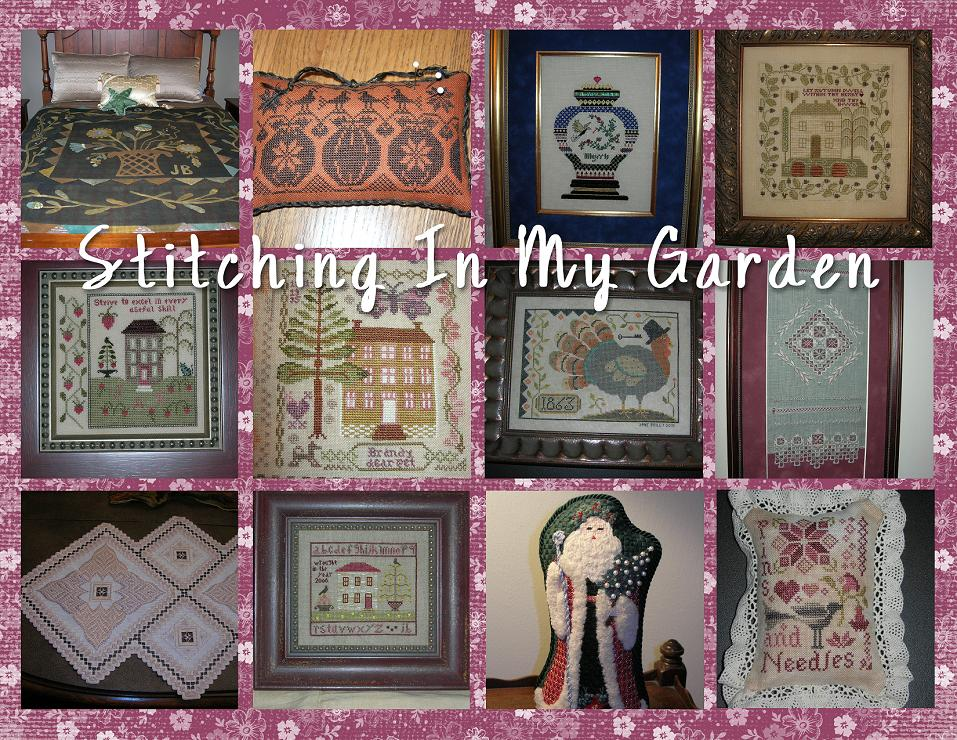 Stitching In My Garden