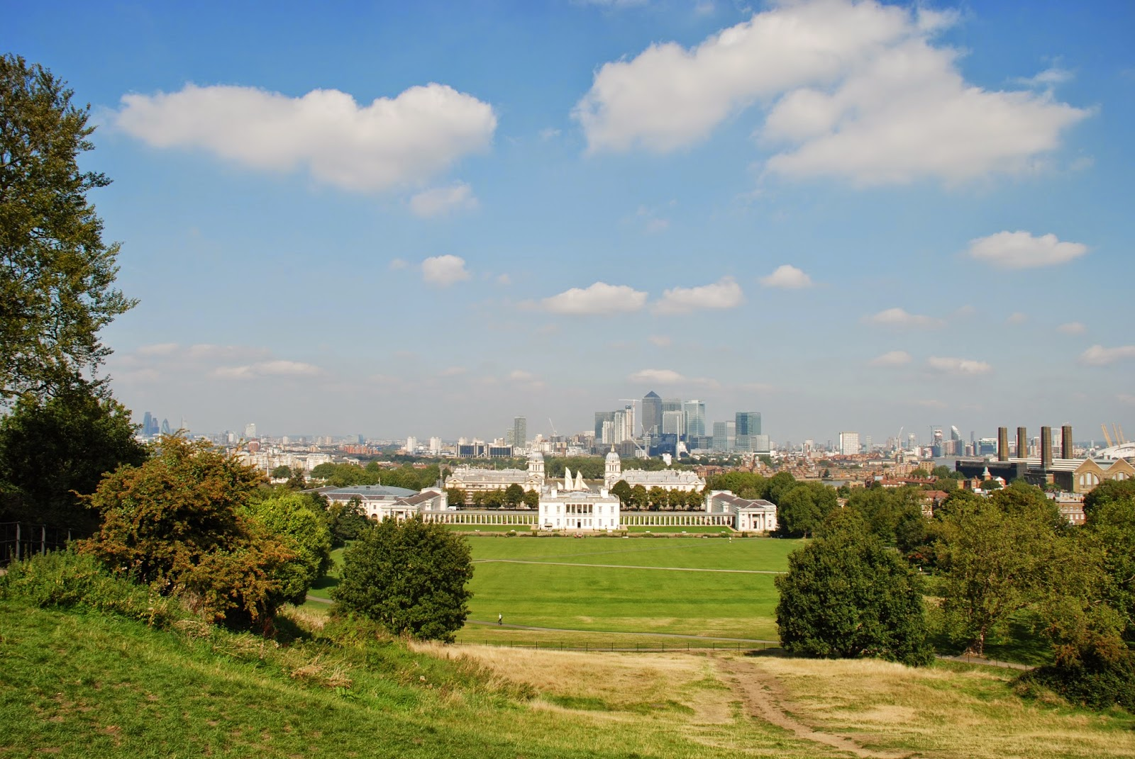 Greenwich from Observatory Hill
