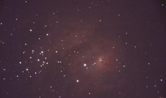 nebulosa ad emissione M8 laguna