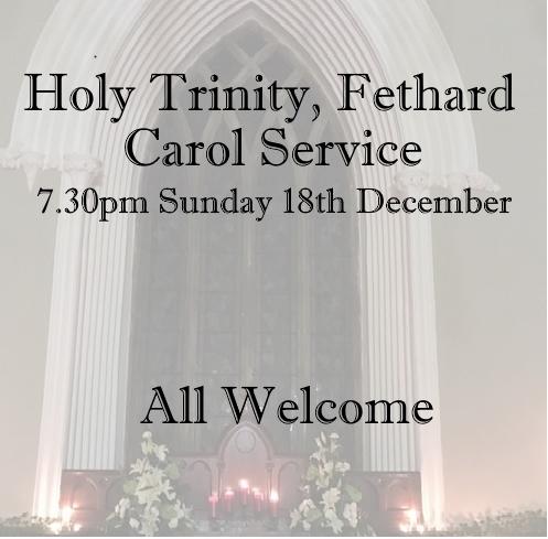 Holy Trinity Fethard Carol Service 2016