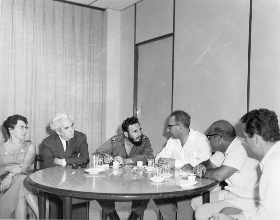 Avec Fidel Castro-1962