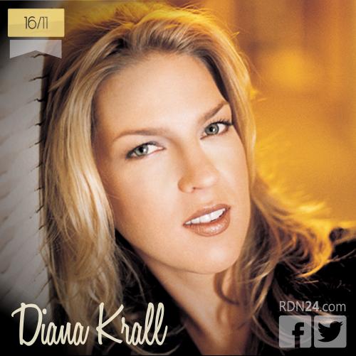 16 de noviembre | Diana Krall - @DianaKrall | Info + vídeos