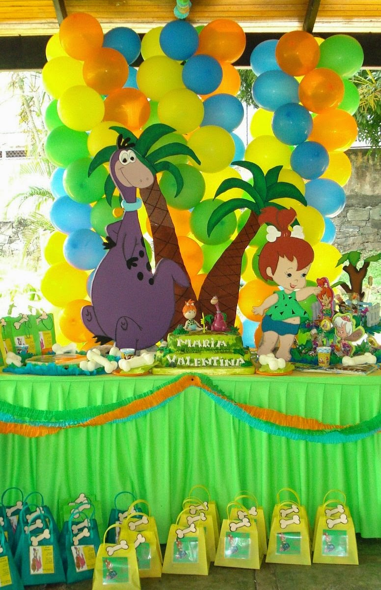 Fiestas infantiles decoradas con los for Ideas decoracion cumpleanos