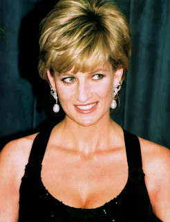 Picture of Diana Princess of Wales who had postpartum depression