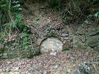 Detall de la Font de Bussanya