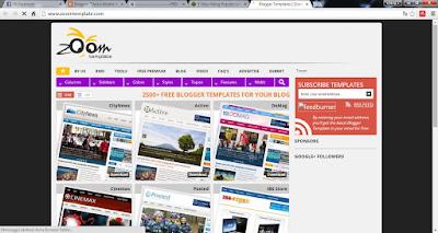 Aris's mobile blog: SITUS-SITUS PALING POPULER UNTUK DOWNLOAD TEMPLATE ...