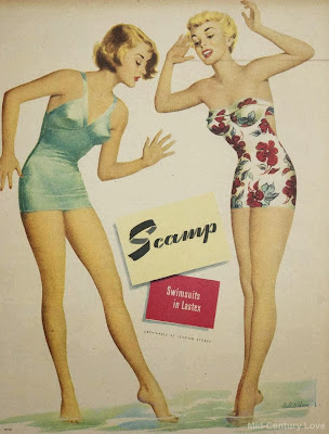 Scamp swimsuits, 1950