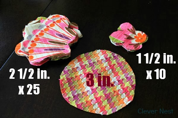 easy, and cute fabric flower! #hgtv #clevernest #mothersday #yearofcrafts