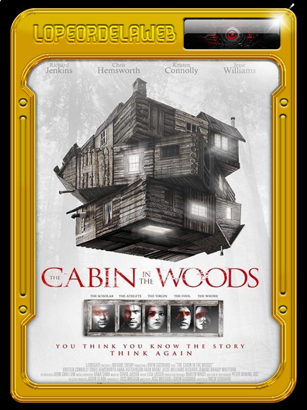 La Cabaña En El Bosque (2012) [BrRip-720p-Dual-Mega]