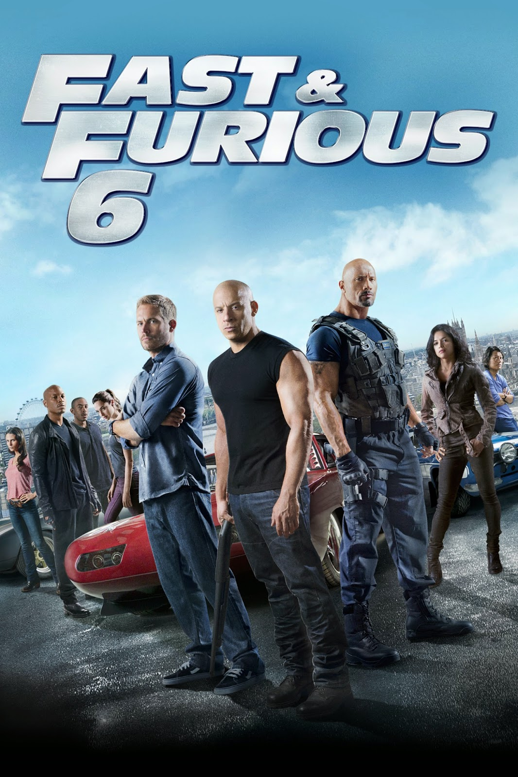 Letty Fast And Furious 6 Poster Fast  amp  furious 6  pg-13 Fast Five Itunes Cover