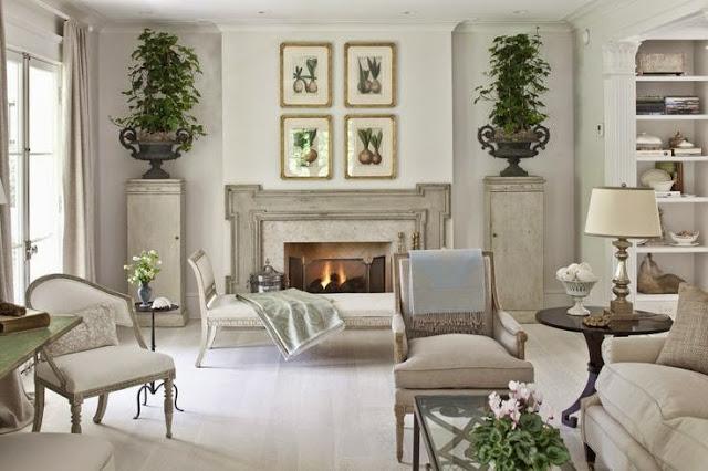 open airy white sun room tile floor traditional design