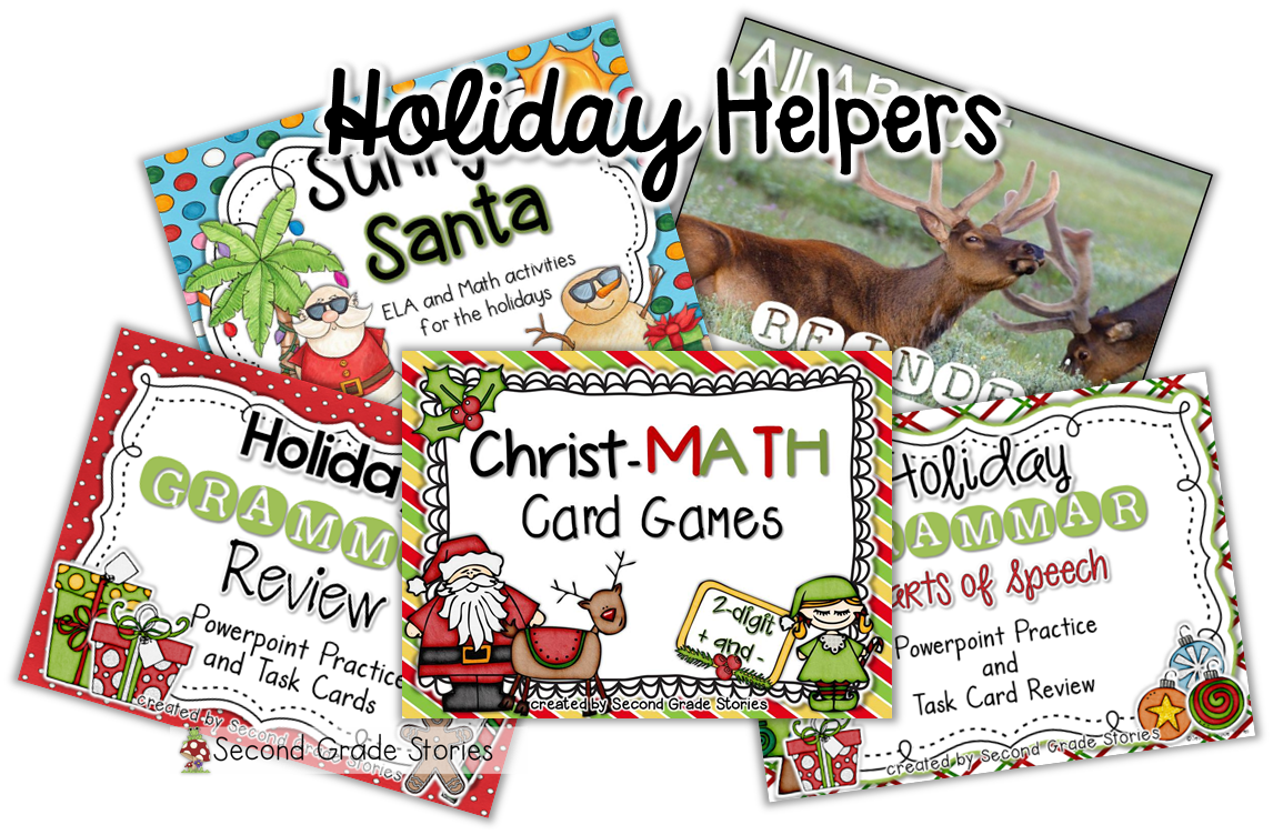 http://www.teacherspayteachers.com/Store/Second-Grade-Stories/Category/Christmas