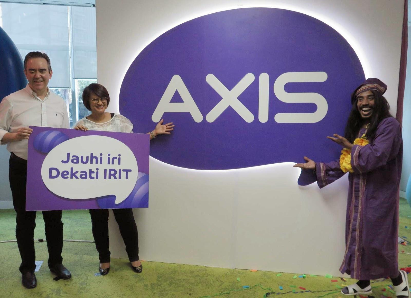 Axis Luncurkan Iritology