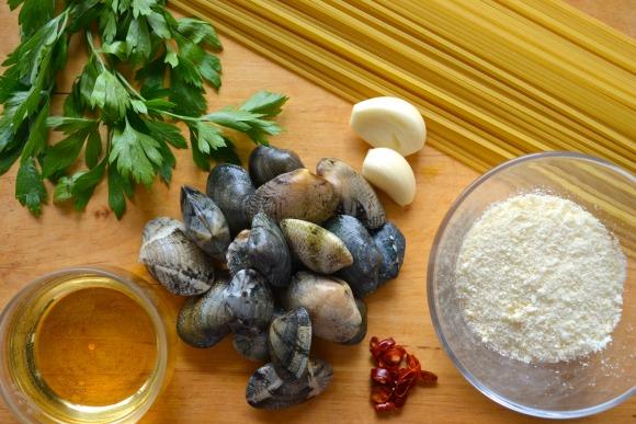 how to make clam spaghetti