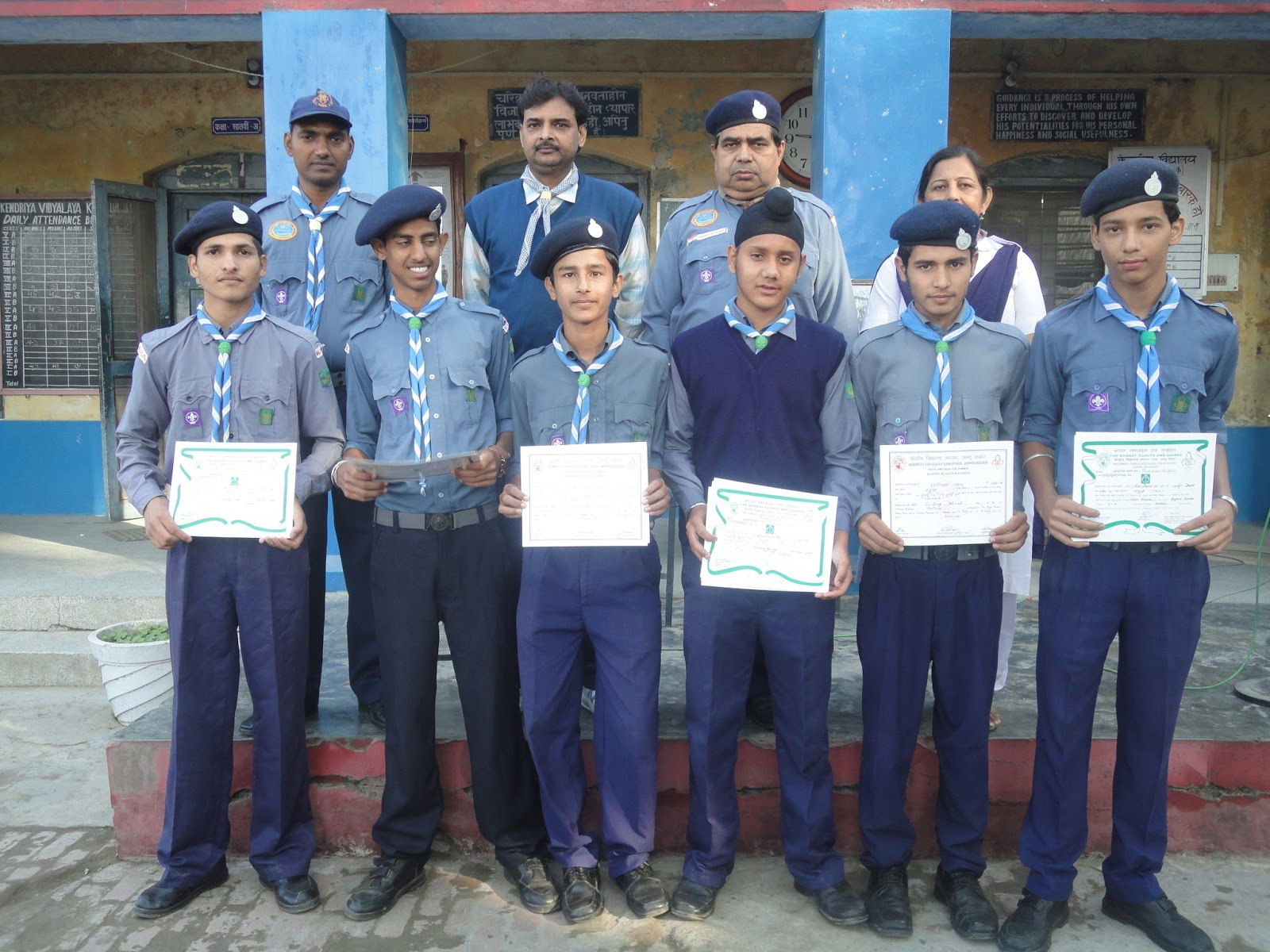 kendriya vidyalaya sangathan bharat scouts guides rajya puraskar rh kvsbsg blogspot com Guide and Scout Badges Logo Scouts And Guides