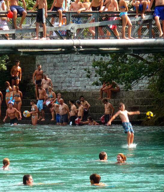 Bagno nel Reno