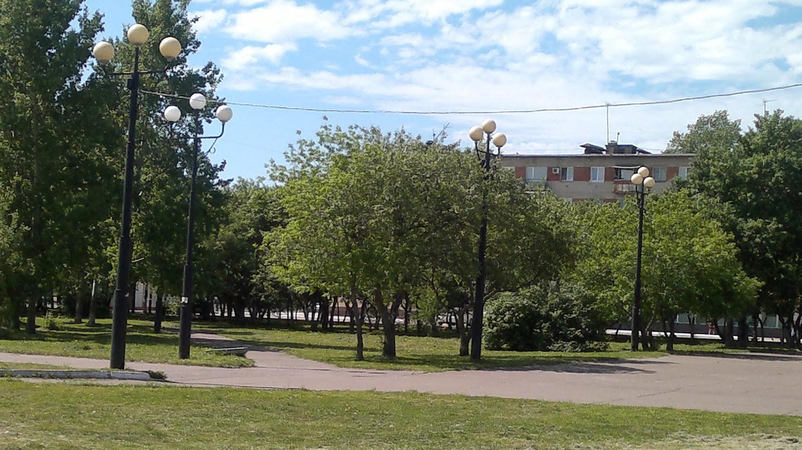 Проспект Первостроителей города Комсомольск на Амуре