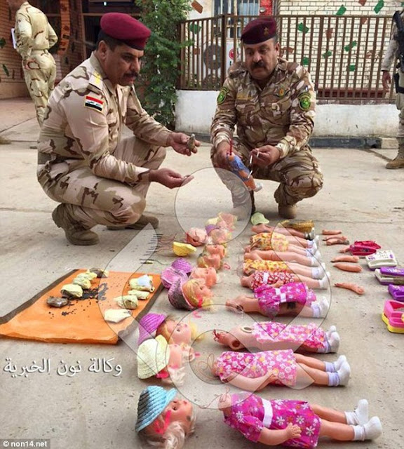 ISIS Bombs Hidden Inside Dolls and Toys to Kill CHILDREN