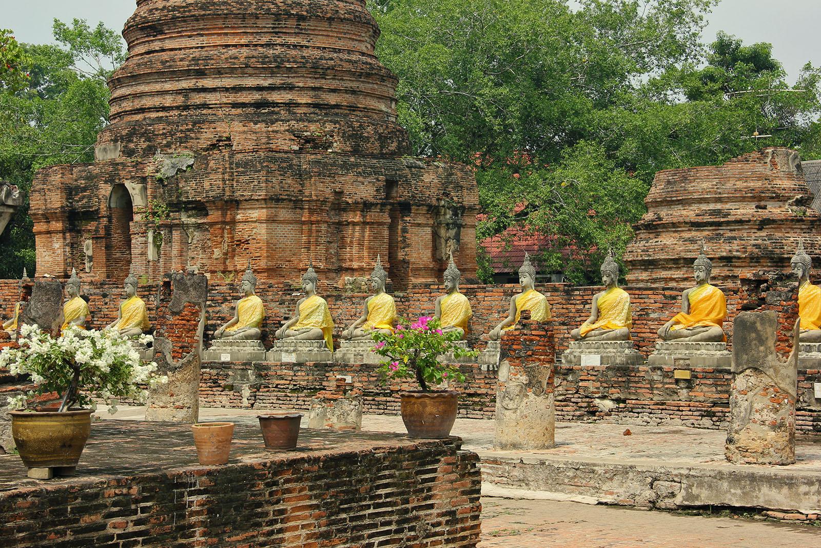 Ayutthaya Historical Park - Ayutthaya - Thailand