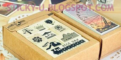 016: Tracey's Stamp + Sticker Set