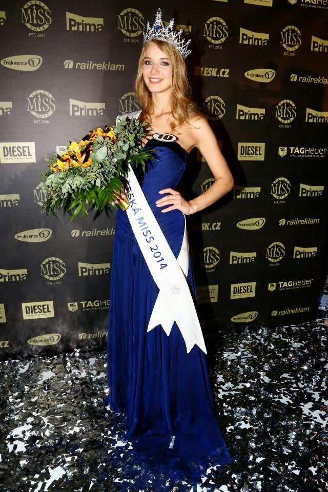 Ceska Miss Czech Republic 2014 Gabriela Frankova