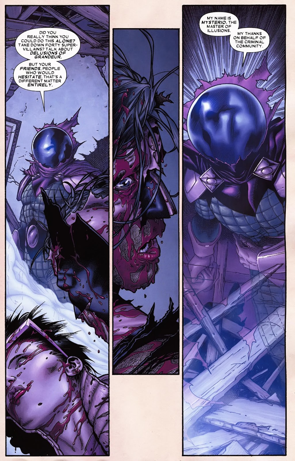 Read online Wolverine (2003) comic -  Issue #70 - 15