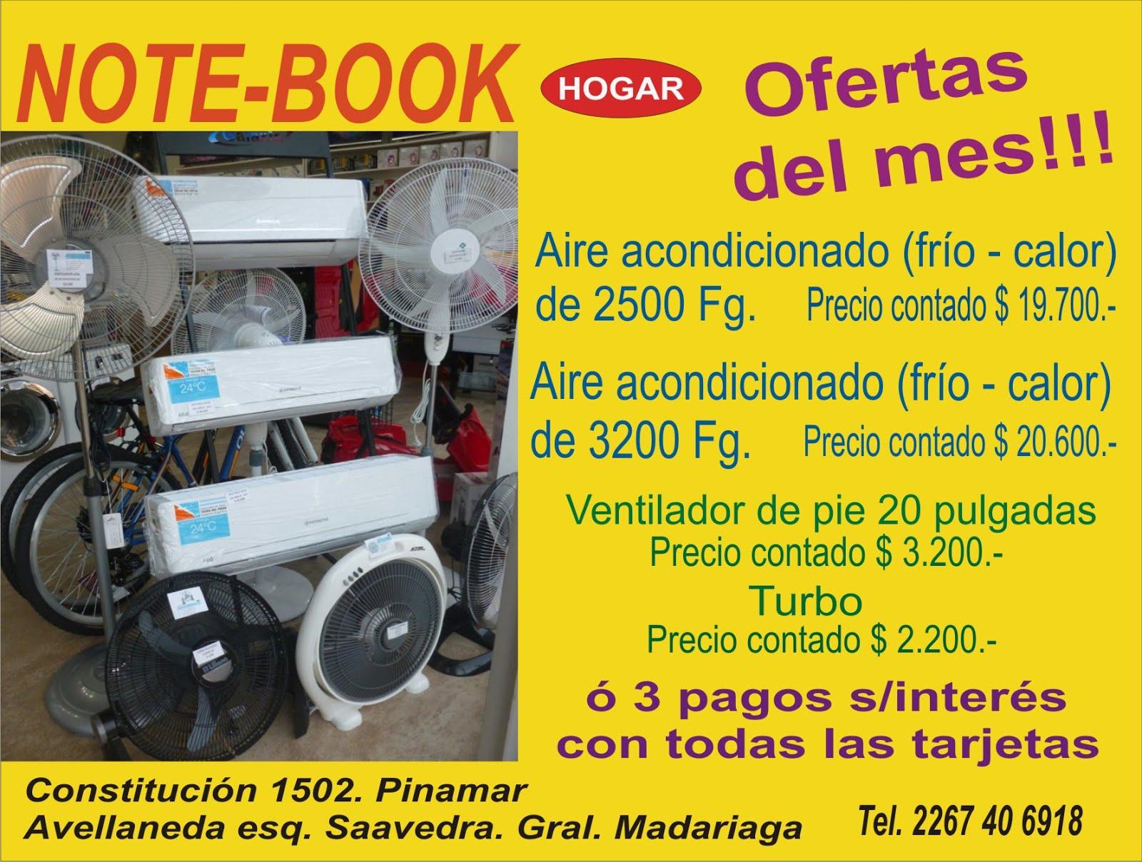 Note-Book Hogar