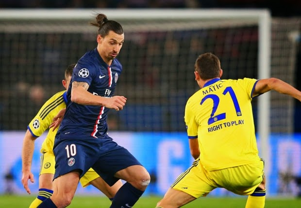 Liga Champions : Paris Saint-Germain 1-1 Chelsea