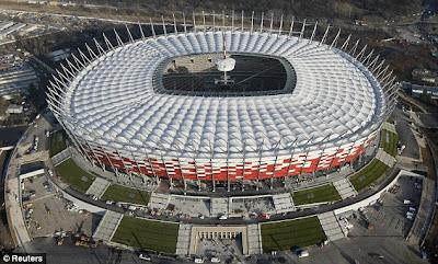 Stadionul National din Varsovia Warsaw Polonia