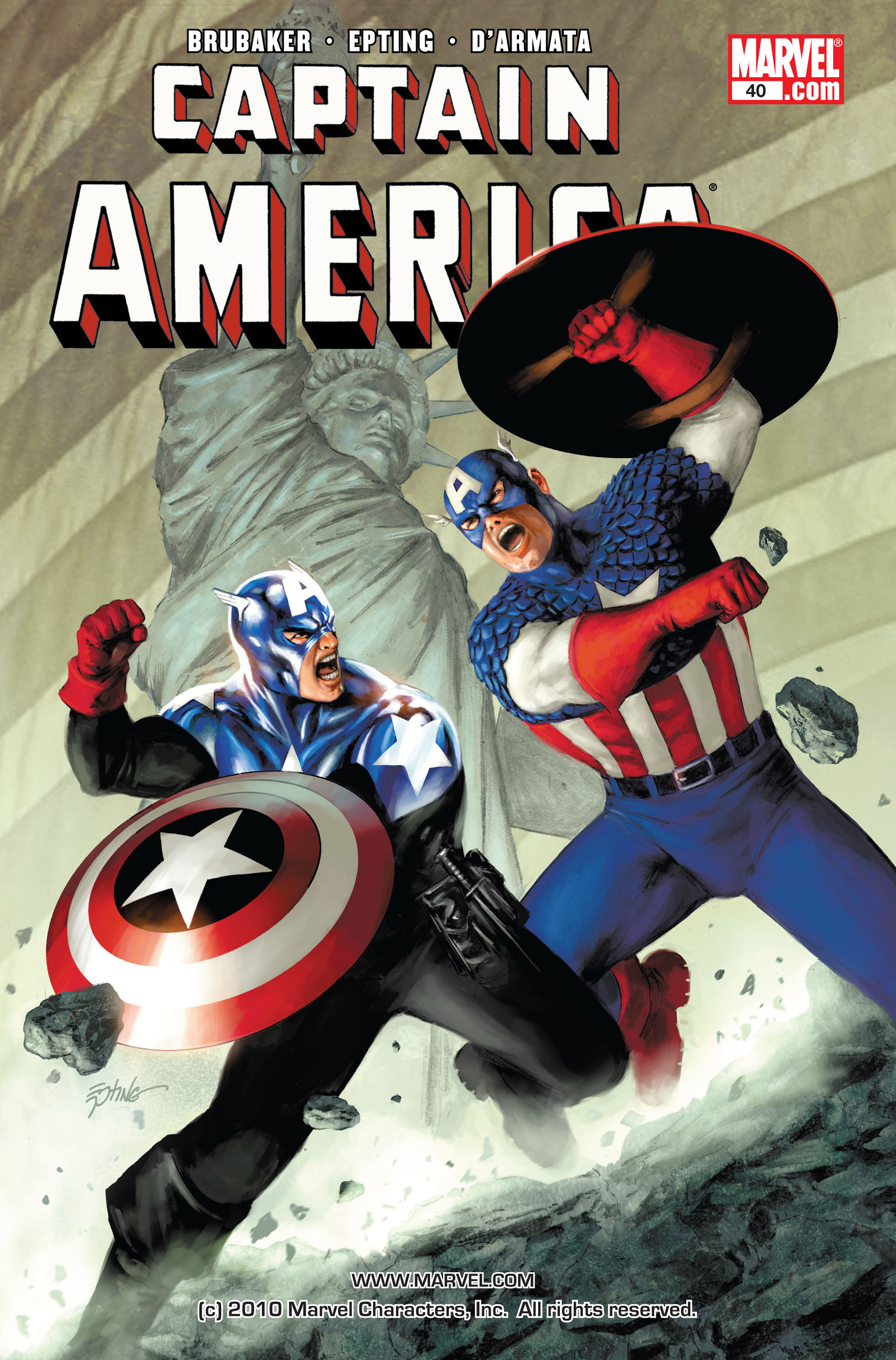 Captain America (2005) Issue #40 #40 - English 1