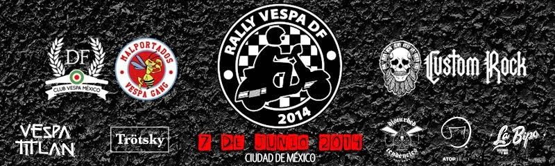 3er. Rally Vespa DF 2014