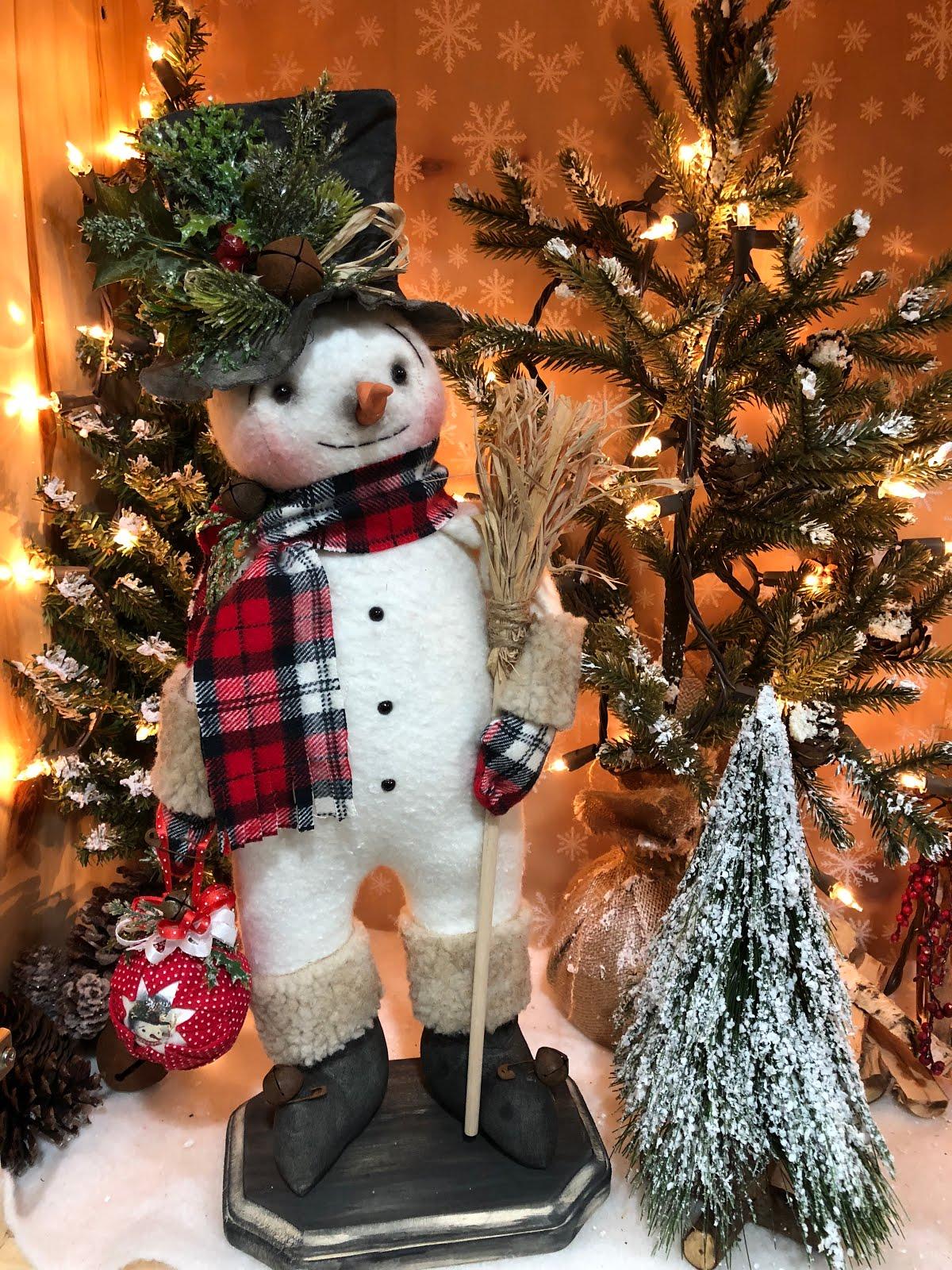Mr Freezy Snowman